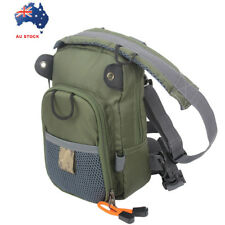 Fly Fishing Chest Bag Waist Pack Lightweight Comfortable Compact Bag Fishermen