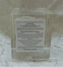 International Paper Co. 1974 Paperweight Pollution Control Revenue Bond Adams Ms