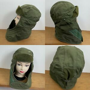US Army `issue Insulated Helmet Liner Cap Hat Cold Weather Green