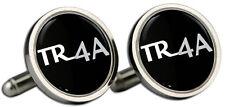TRIUMPH TR4A Negro Logo Gemelos Y Caja De Regalo