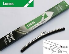 "Lucas LWCL004 Stainless Steel Wiper Blade 10"" 5mm Bayonet, For Mini etc GWB219"