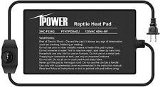 iPower Reptile Heating Mat with Tem Controller Under Tank Terrarium Heat Pad