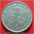 GERMANY WEIMAR 1928-A 50 REICHSPFENNIG BERLIN MINT GERMAN WORLD COIN NICKEL 20mm