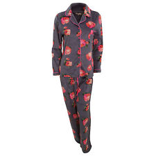 Floral Full Length Button Front Women's Lingerie & Nightwear