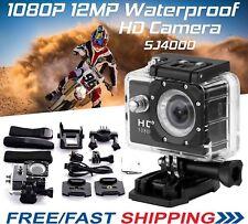 2018 SJCAM SJ4000 HD 1080P Sports Mini DV Action Waterproof Bike Camera UK SELLE