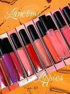 Lancome-L'Absolu Lip Gloss- All 11 Beautiful Shimmering & Plumping Glosses.