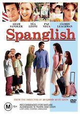 Spanglish DVD BEST FILM Adam Sandler Téa Leoni Paz Vega  R4