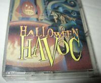 Vintage 1996 Halloween Havoc Cassette Tape K-Tel Scary Sound Effects FREE Ship