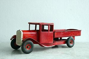 Triang LKW, Kipper, antikes Blechspielzeug, aus ca. 1920, schöne Patina