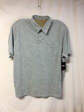 NWT Big Men's Large & In Charge Polo Shirt w/ Pocket Size 4XL Big Lt. Grey #242R