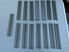 Hornby R600 Nickel Silver Single Straight Track x15