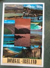 DONEGAL; IRELAND - laminated poster VIEWS + TRADITIONAL RECIPES 12X17 inches