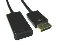 4K DisplayPort  - HDMI Adapter 3D Active LEAD