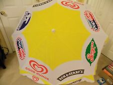 Brand New Celal Birsen Promotional Advertising Ice Cream Beach Umbrella