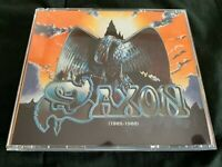 SAXON ~ THE EMI YEARS (1985-1988) 4 X CD OOP/Rare