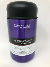 Thermocafe' Stainless Steel Vacuum Insulated Thermos Flask - 400ml.