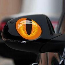 Car Accessories 3D Evil Cat Eyes Mirror Decoration Car Sticker Funny Look Window