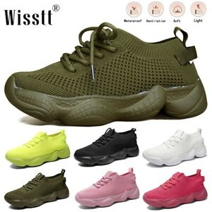 Women's Walking Athletic Sock Shoes Mesh Gym Knit Fitness Casual Sport Sneakers