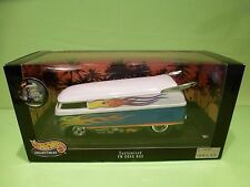 HOTWHEELS 26416 VOLKSWAGEN T1 - CUSTOMIZED VW DRAG BUS -  1:18 - NM IN SEALD BOX