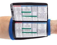WristCoaches.com 3-Pocket Football Wrist Coach Youth Wristband Quarterback Plays