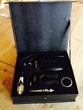 New listing 7 piece corkscrew set ~ lever cork screw foil cutter wine collar pourer stopper