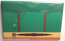 "Pitfall Atari 2600 Harry  2""x3"" Fridge Locker MAGNET Nintendo"