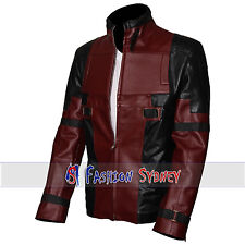 WADE WILSON DEAD POOL HIGH QUALITY LEATHER - All Sizes Available + Free Shipping