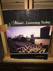 Music Listening Today (with 2 CD Set) by Charles Hoffer (2012, Paperback)