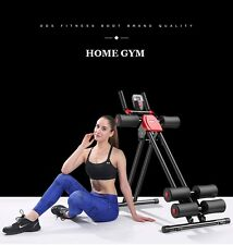 New home gym abdominaux crunch fitness entrainement entraineur exercice machine