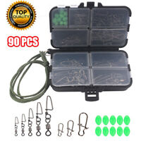 Complete Sea Fishing Rig Making Kit With 9 Compartment Lock Tight Tackle Box New