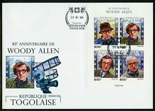 TOGO 2020  85th  ANNIVERSARY OF WOOD ALLEN  SHEET FIRST DAY COVER