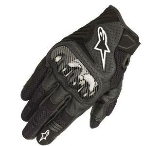 Alpinestars SMX-1 Air V2 Gloves Black Size Large