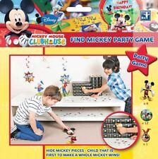17 Pezzi Disney Mickey Mouse Giocherellone Circolo Find Gioco per Festino Set