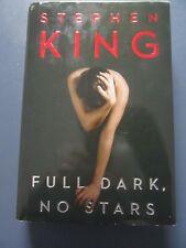 2010 Stephen King  Full Dark No Stars Hardcover Book