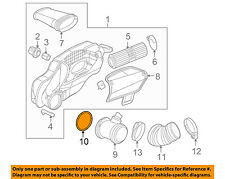 PORSCHE OEM Air Cleaner Intake MAF-Mass Air Flow Sensor O-Ring Seal 99970705241