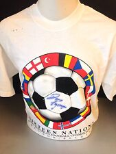 Signed Euro 2000 Shirt Lynam Gullit Townsend Atkinson More