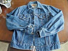New listing Levi's Western Trucker Denim Jean Jacket Size 36 Vintage 70's 70505 0217 / 526