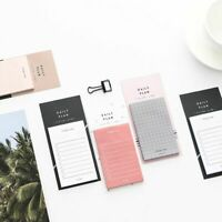 Sticky Notes To Do List Memo Pads Detachable Notepad Office School Planner Daily