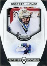 11/12 PANINI CERTIFIED MASKED MARVELS #11 ROBERTO LUONGO CANUCKS *43208