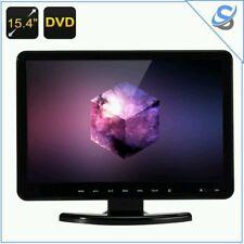 "15.4"" TFT LCD Monitor FHD 16:9 DVD Player TV VGA HDMI USB SD Car Hitachi Lens"