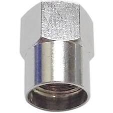 Heavy Duty in metallo a forma di esagonale VALVOLA CAPS TAPPI polvere ad alta pressione Confezione da 100
