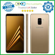 New Samsung Galaxy A8 (2018) A530 64GB Dual SIM Gold Unlocked - 1 Year Warranty
