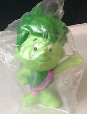 """NEW Jolly Green Giant Sprout 1996 Pasta Accents Sprout 7"""" Vinyl Doll"""
