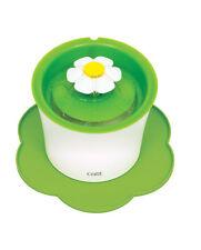 Catit Silikonmatte Blumeform - rutschfeste Unterlegmatte für Trinkbrunnen - Grün