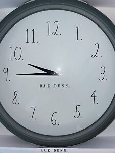 Rae Dunn Wall Clock - 2020 RD with periods