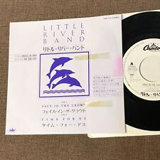"""Promo-only LITTLE RIVER BAND Face In The Crowd JAPAN 7"""" SINGLE RECORD PRP-1175"""