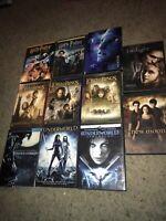 🔥huge 11 DVD Lot Harry Potter Lord Of The Rings Underworld Twilight Avatar