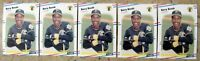1988 Fleer #322 Barry Bonds Pittsburgh Pirates 5ct Card Lot
