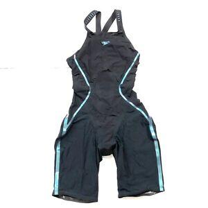 Speedo Women's Fastskin LZR Racer X OPEN Back Championship Tech Suit Size 25