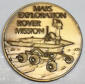 N504      NASA  SPACE  COIN /  MEDAL, MARS EXPLORATION ROVER MISSION